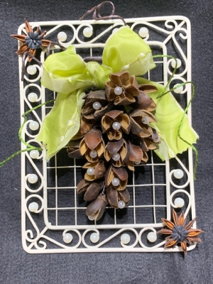 ★WEB申込可★トロッケンゲシュテック ~木の実とスパイスの飾り花~