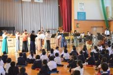うさぎオーケストラ学校訪問コンサート